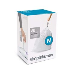Simplehuman Kitchen Trash Can Cabinet Supplies Cw0161 Code B 定制座套6l 垃圾桶护垫 30 盒