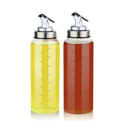 Oil Dispenser Kitchen Cabinet Hinge 橄榄油分配瓶 425 24g 玻璃油瓶无滴水 植物橄榄油油油容器 无铅玻璃 植物橄榄油