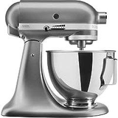 Kitchen Aid Artisan Mixer Small Apartment Table Kitchenaid 凯膳怡 搅拌 榨汁 食品处理 厨房电器 小家电 亚马逊 5ksm95psecu 多功能厨房机 4 3 升防