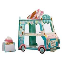 Lowes Kitchen Pantry Rug 3 层蛋糕架 冰淇淋食品推车派对装饰 Van Shape Cupcake 支架 适用于