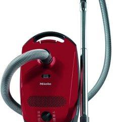 Miele Kitchen Appliances Cabinet Liner Miele美诺classic C1小型电源线袋式吸尘器 4 5 L 1400 W 红色 能量