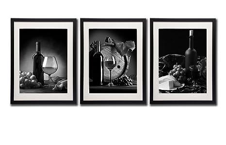 framed prints for kitchens country cottage kitchen designs 红 图片墙艺术装饰瓶玻璃葡萄水果帆布印刷画黑白海报印刷在画布上3 件黑 图片墙艺术装饰瓶玻璃葡萄水果帆布印刷画黑白海报印刷