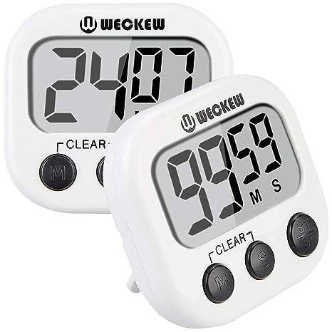 digital kitchen timers delta touch faucet wecker 数字厨房计时器 烹饪计时器 大显示屏 强力磁背 大声警报 强力磁