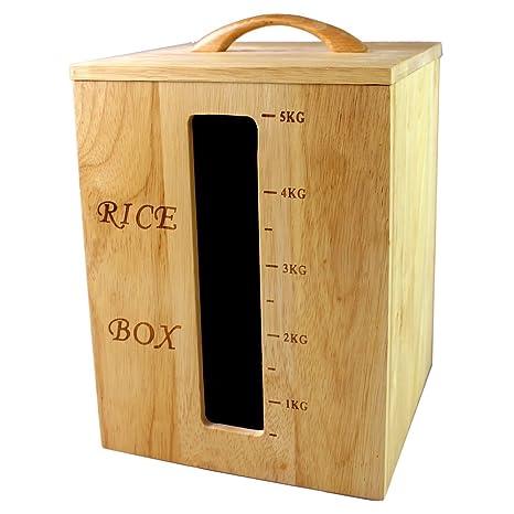 rubbermaid kitchen storage containers and bath st louis liveon 力王5kg橡胶木方形木米桶环保米箱米缸面箱储米箱防虫防蛀环保送 力王5kg橡胶木方形木米桶环保米箱米缸面