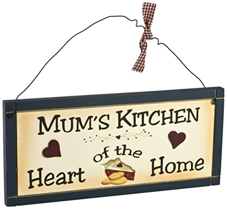 kitchen plaques sink faucets lowes heartwarmers novel wooden mum 厨房标志牌匾 厨具 亚马逊中国