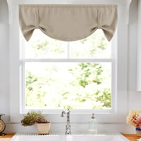 kitchen valance wusthof knives vangao 厨房窗户绑带帷幔灰褐色18 l usvgblkvl 5218c11 quot