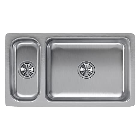 36 inch kitchen sink scrub brush holder elkay 美食厨房水池eluh3219 家居装修 亚马逊中国