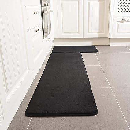 kitchen rugs amazon over the sink light 厨房地毯套装leevan 海绵厨房舒适地垫超软毛毯超细纤维法兰绒区域runner 海绵厨房舒适地垫超软毛毯超细纤维
