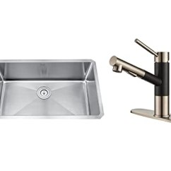 Kraus Kitchen Sinks Turquoise Cabinets 美国kraus 克劳思拉丝单柄厨房双功能抽拉式水龙头水槽套装1 5mm厚手工 克劳思拉丝单柄厨房双功能抽拉式水龙头水槽