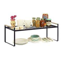 Kitchen Counter Commercial Style Faucets 厨房柜台和柜台收纳架 黑色黑色大 亚马逊中国 厨具 海外购美亚直邮