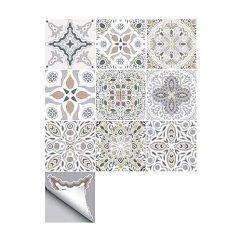 Kitchen Tile Murals Subway Decorson 北欧极简主义壁画厨房浴室瓷砖贴纸 10 件 套5 9 英寸5sets 5