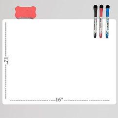Kitchen Planners Moveable Island 厨房冰箱 冰箱磁性床单 白板 干擦 绘图板 规划师完美