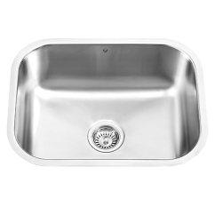 Kitchen Sink Amazon Outdoor Ideas For Small Spaces Vigo Vg2318 Undermount 不锈钢18 Gauge 单碗厨房水槽 亚马逊中国 家居装修