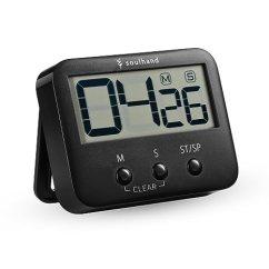 Digital Kitchen Timers Washable Rugs Non Skid Soulhand 数字厨房计时器 烹饪计时器 大数字大声警报磁性背衬支架 带 大数字大声警报磁性背