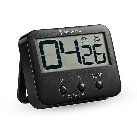 digital kitchen timers outdoor fridge soulhand 数字厨房计时器 烹饪计时器 大数字大声警报磁性背衬支架 带 大数字大声警报磁性背