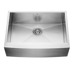 Kitchen Sink Farmhouse Remodel Price Vigo Vg3020c 76 2cm 农舍围裙正面16 号单碗不锈钢厨房水槽 商用级水槽 商用
