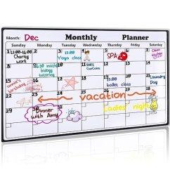 Kitchen Planners Cabinets Kansas City 磁性白板日历适用于冰箱 42 5cm X 29 97cm 2018白色板日历规划师厨房 2018白色板