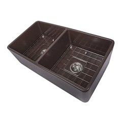 Kitchen Sink Farmhouse Discount Cabinets Cape 83 82cm X 38 1cm 双碗农舍fireclay 厨房水槽 家居装修 亚马逊中国