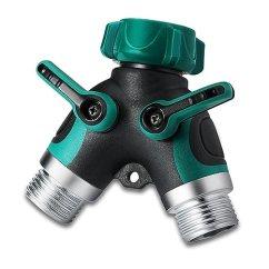Heavy Duty Kitchen Faucet Utensil 花园软管分路器 重型水阀花园龙头软管适配器 喷洒器球阀软管连接器