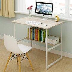 Maple Kitchen Table Furniture Ideas 书桌学生学习桌子台式电脑桌笔记本加粗钢木桌家用简约办公桌经济型卧室小 书桌学生学习桌子台式电脑桌笔记本加粗钢木桌家用简约办公