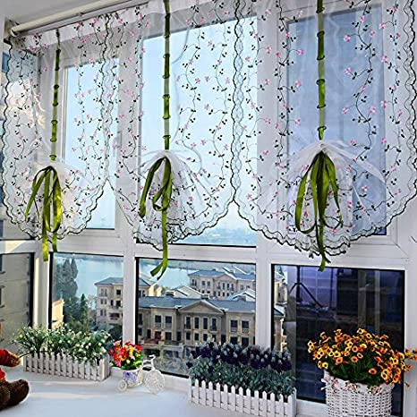 cafe kitchen curtains how to install hidden hinges on cabinets wpkira home 时尚卡通猫头鹰刺绣杆孔顶罗马窗帘垂直窗帘咖啡厅窗帘窗帘 时尚卡通猫头鹰刺绣杆孔顶罗马窗帘垂直窗帘咖啡厅窗帘
