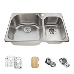 Kitchen Sink Grids Craigslist Table And Chairs The Mr Direct T3121l 18 Gauge 厨房套装 套装 6 种产品 水槽 篮子滤