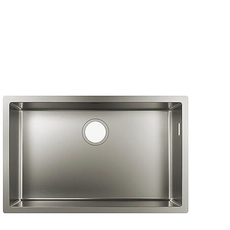 kitchen sink amazon undermount stainless sinks hansgrohe 汉斯格雅厨房水槽 不锈钢不锈钢白80cm unterschrank 43428800