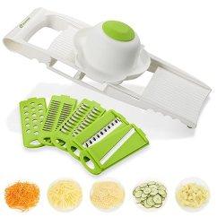 Kitchen Food Slicer Amazon Undermount Sink Zanmini 蔬菜切菜切片机 蔬菜切片机 5 合1 多功能食品切片机奶酪磨料 多功能