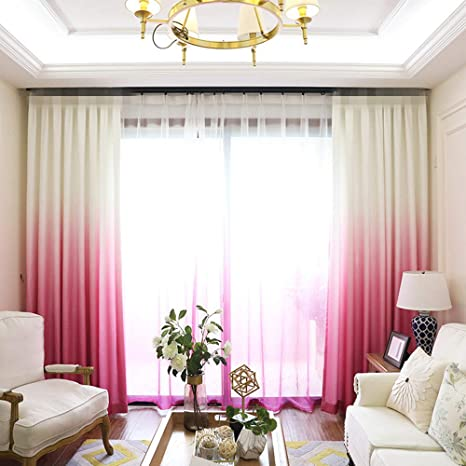 grommet kitchen curtains glass top tables aifish 条纹索环半遮光窗帘84 适用于庭院门经典蓝色米色 象牙色条纹窗帘