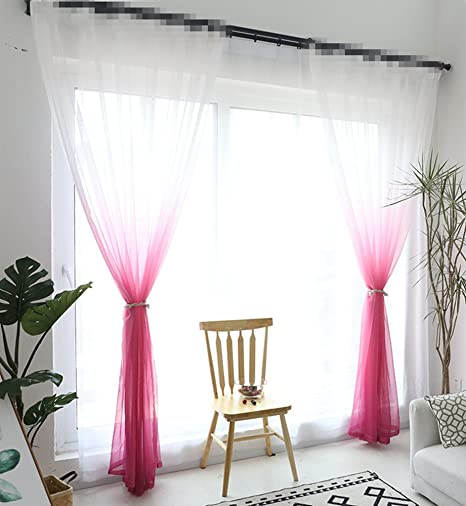 grommet kitchen curtains bay window seat table aifish 条纹索环半遮光窗帘84 适用于庭院门经典蓝色米色 象牙色条纹窗帘