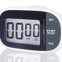 Digital Kitchen Timers Pantry Cabinet Ikea 数字厨房计时器 迷你便携式倒数 计数计时器 大声警报和简单操作 可用 大声警报和
