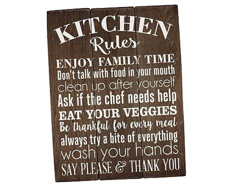 country kitchen wall decor stone sinks 厨房规则标志厨房墙壁装饰乡村风格厨房标志farmhouse 装饰厨房墙壁艺术