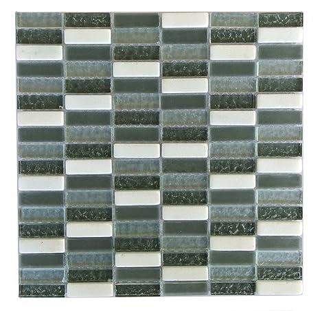 grey kitchen backsplash best sinks abolos amzqrtzdaf1414 玻璃马赛克瓷砖厨房浴室墙壁后挡板 5 张 黑色