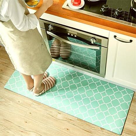 kitchen rugs amazon cabinet hutch ukeler 橡胶厨房地毯套装45 80 45 120 150 180
