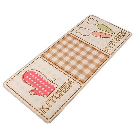 kitchen rugs amazon sink drains home art美家饰厨房地毯手套 胡萝卜 50 120cm 亚马逊中国 家居