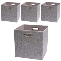 Lowes Kitchen Cabinets Sale 33x22 Sink 储物方篮框 可折叠衣柜收纳架橱柜书架 厚实面料抽屉容器银灰色13 厚实面料