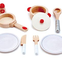 Hape Kitchen Www Ikea Cabinets 厨房过家家家套装e3150a 玩具 亚马逊中国