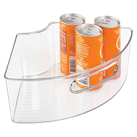 kitchen lazy susan direct interdesign 懒洋洋洋娃娃橱柜和收纳箱 厨房储物箱 1 4 透明set of