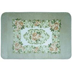 Teal Kitchen Rugs Black Cabinet Home Art美家饰客厅地毯繁花似锦青色100 150cm 家居 亚马逊中国
