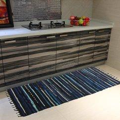 Kitchen Rugs Amazon Narrow Cabinet For Homecover 地毯rags 手工制作棉质条纹地毯地毯垫垫厨房浴室门卧室客厅 手工制作棉质条纹地毯地毯垫垫厨房浴室门卧室