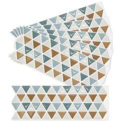 Mosaic Backsplash Kitchen Pictures Of Remodeled Kitchens 家居装饰三角马赛克厨房浴室美人3d 壁纸贴纸瓷砖 安装简单灵活 可拆卸