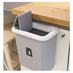 Kitchen Garbage Cans Suspended Shelves Kary Chef 悬挂垃圾桶 橱柜厨房垃圾桶 垃圾桶 适用于厨房橱柜 带自动 适用于