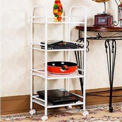 Metal Kitchen Rack Cabinets For Less Reviews 金属厨房置物架落地火锅架浴室收纳微波炉烤箱架 60 32 100 4层 亚马逊