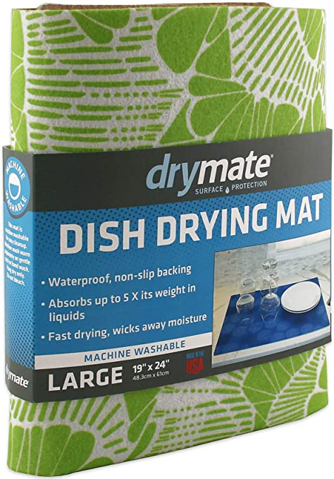 kitchen dish drying mat home depot backsplash drymate 餐具干燥垫 高级xl 48 26 厘米x 60 96 厘米 厨房洗碗垫 厨房洗