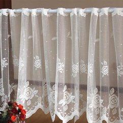Kitchen Curtains Amazon Unfinished Chairs Xiulihui 手工雏菊刺绣牧场风格花卉窗幔 厨房窗帘 咖啡厅窗帘 餐厅