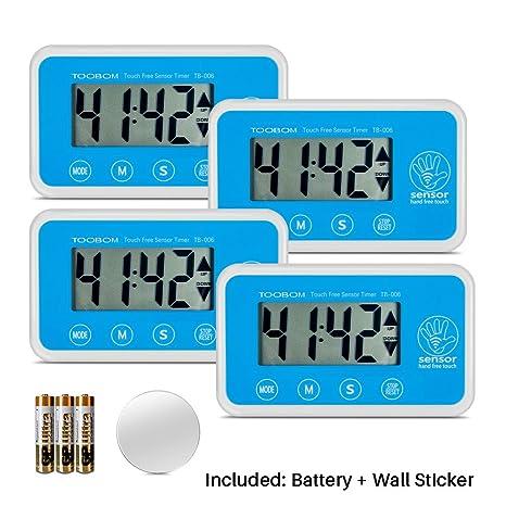 digital kitchen timers cabinet refinishing cost 数字厨房计时器 toobom 简单传感器数下 计数烹饪计时器 大数字 大声