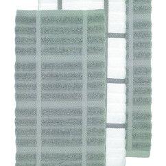 Gray Kitchen Towels Hotel Chains With Kitchens All Clad Textiles 精梳绒环棉厨房毛巾 超大尺寸 吸水性强 43 18