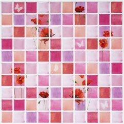 Mosaic Backsplash Kitchen Mid Century Modern Cabinets Ecoart 即剥即贴后挡板瓷砖 马赛克装饰瓷砖贴纸25 4 厘米x 25 厘米