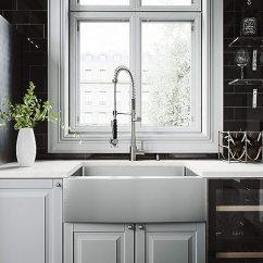 Kitchen Sink Farmhouse Wall Shelves For Vigo 76 2 厘米农舍围裙单碗16 号不锈钢厨房水槽带苏黎世不锈钢水龙头