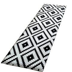 Kitchen Rugs Amazon Cheap Sink And Tap Sets Nfs 厨房地毯弹性吸水防滑棉质地垫43 18x172 72cm 米色geometric 17 X